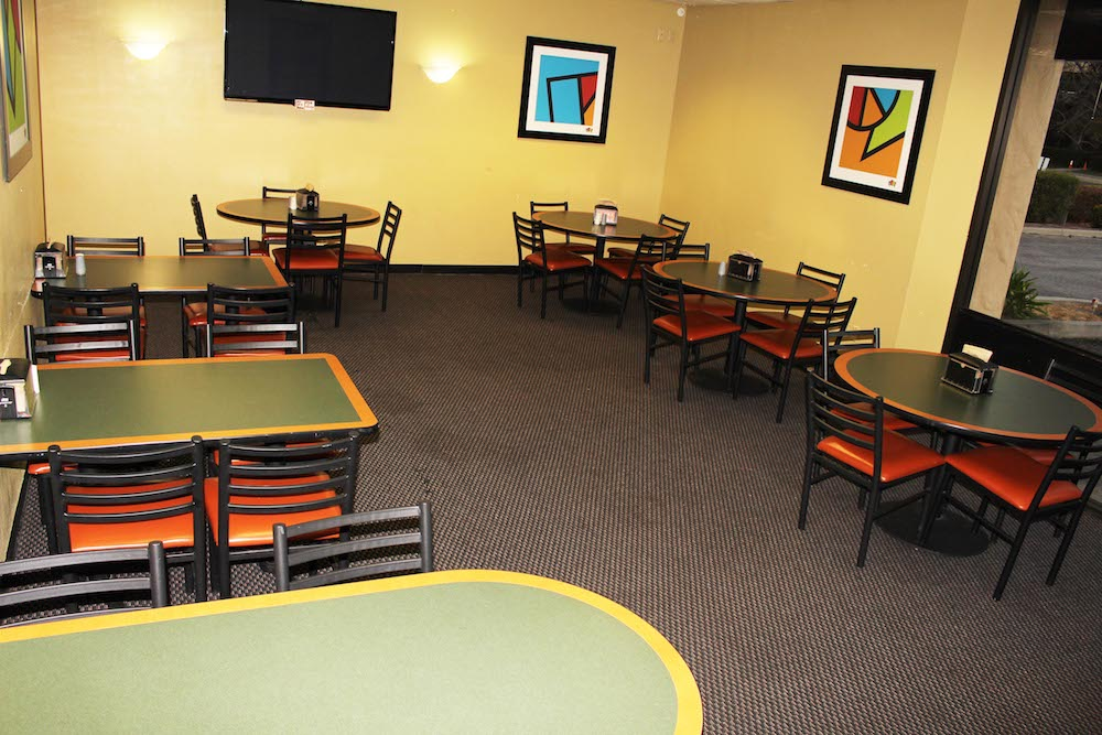 Great America Round Table Pizza Banquet Room